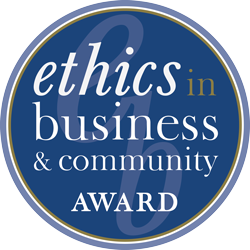 Ethics in Business and Community Award